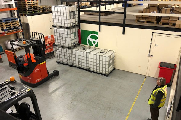 Forklift training course in Wrexham