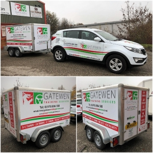 Gatewen Training Takes Delivery of New Training Trailer