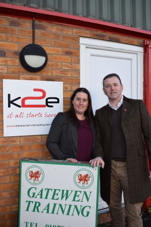 Wrexham Training Firm k2e Acquires Gatewen Training Limited